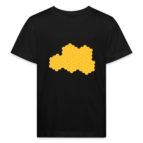 Bienenwabe - Kinder Bio-T-Shirt