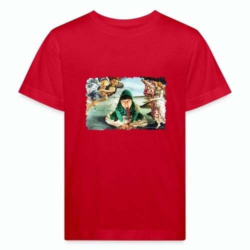 Botticelli - Maglietta ecologica per bambini