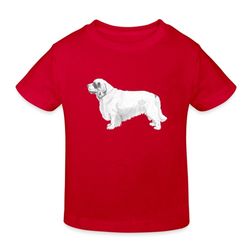 clumber spaniel - Organic børne shirt