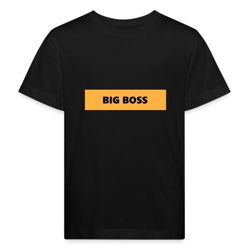 BIG BOSS - Lasten luonnonmukainen t-paita