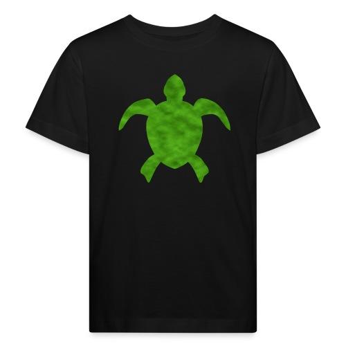Meeresschildkröte grün - Kinder Bio-T-Shirt