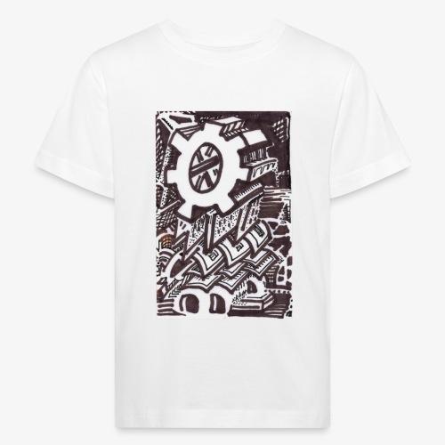 The Solitary Cog - Kids' Organic T-Shirt