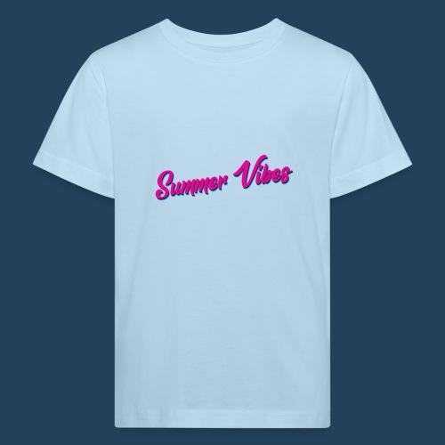 Summer Vibes - Kinder Bio-T-Shirt