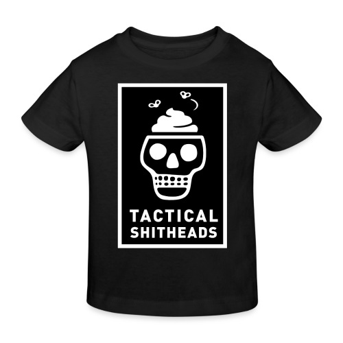 Tacshit Shitheadskull - Kinder Bio-T-Shirt