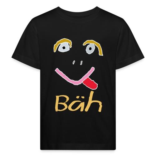 Gesicht Baeh Kontur Hell - Kinder Bio-T-Shirt