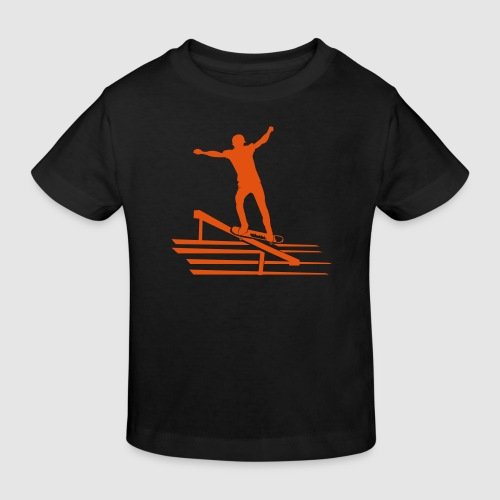 Skateboard - Kinder Bio-T-Shirt