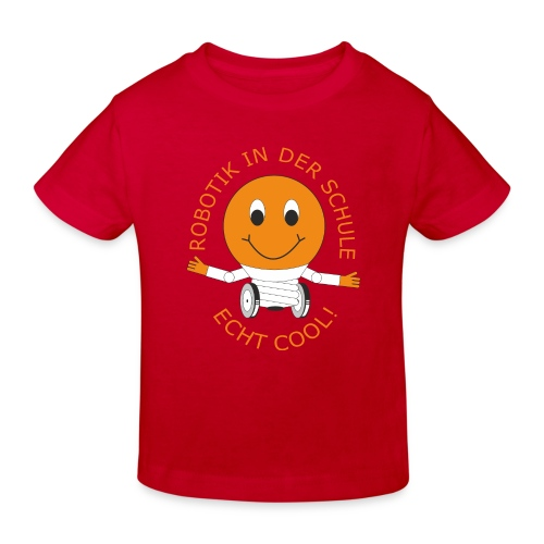 SOMALES- Robotik in der Schule - ECHT COOL - Kinder Bio-T-Shirt