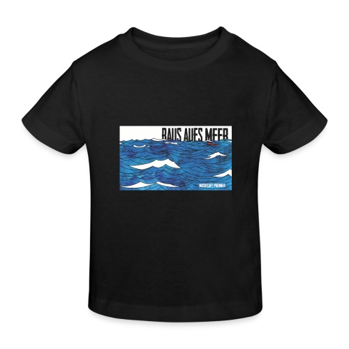 Raus aufs Meer - Kinder Bio-T-Shirt
