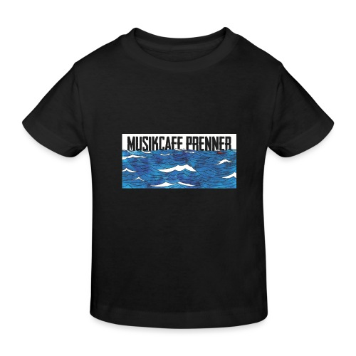 Musikcafe Prenner Schriftzug - Kinder Bio-T-Shirt