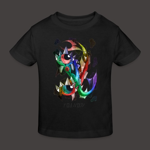 Poisson multi-color - T-shirt bio Enfant
