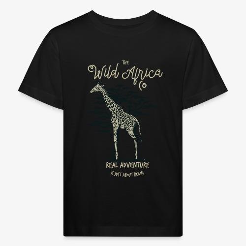 Giraffe - Kinder Bio-T-Shirt