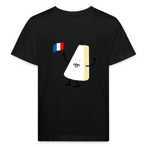 Monsieur Camembert - Kinder Bio-T-Shirt