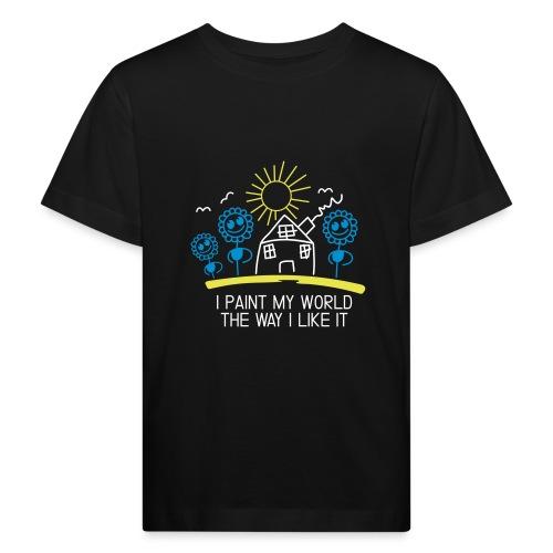 paint-my-world - Kinder Bio-T-Shirt