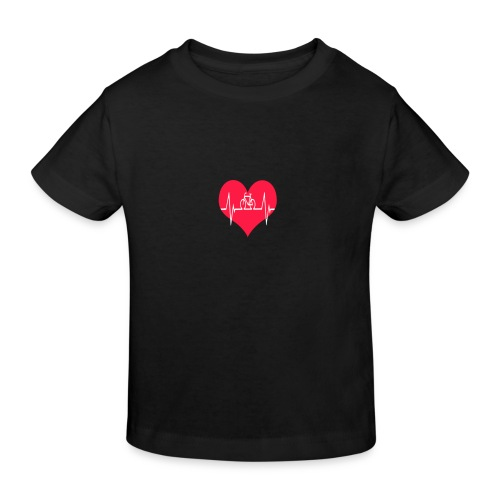 I love my Bike - Kids' Organic T-Shirt