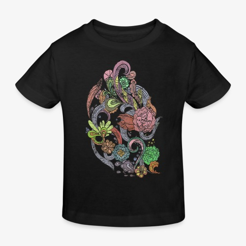 Flower Power - Rough - Ekologisk T-shirt barn