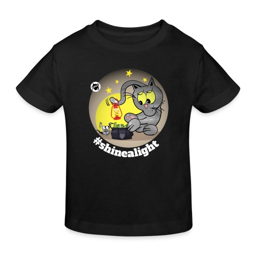 Astrokatze Skorpion - Kinder Bio-T-Shirt