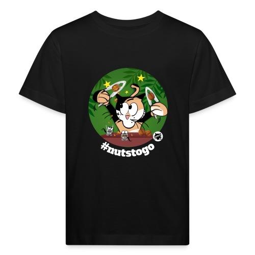 Astrokatze Krebs - Kinder Bio-T-Shirt