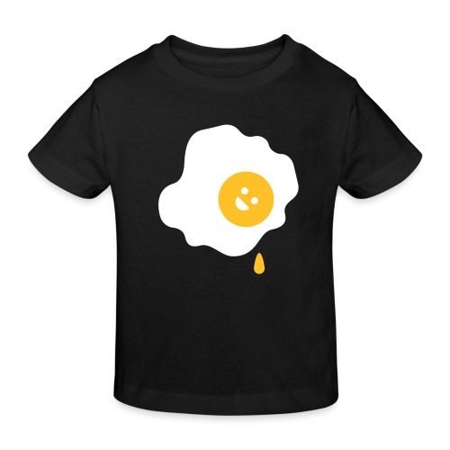 BD Spiegelei - Kinder Bio-T-Shirt