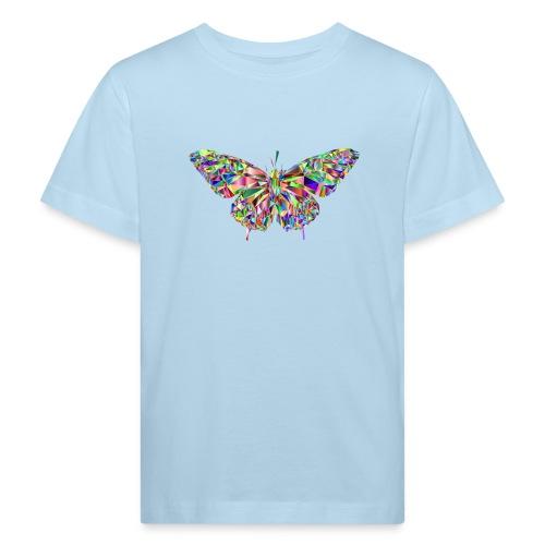 Geflogener Schmetterling - Kinder Bio-T-Shirt