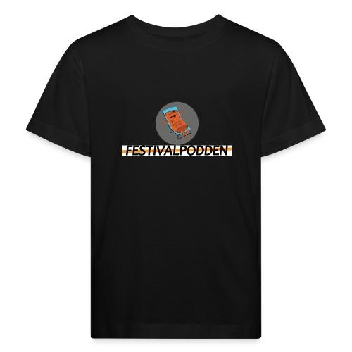 Festivalpodden - Loggorna - Ekologisk T-shirt barn