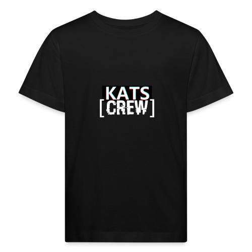 KATS CREW Logo - Ekologiczna koszulka dziecięca