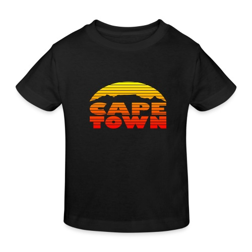 TableMountain-Sunset - Kinder Bio-T-Shirt