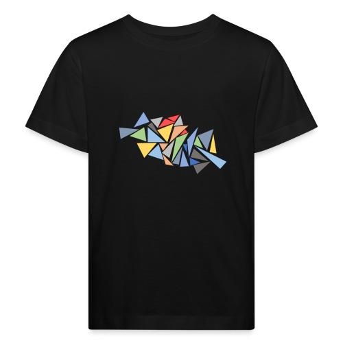 Modern Triangles - Kids' Organic T-Shirt
