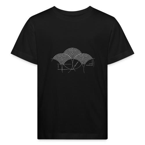 European Fan White - Kinderen Bio-T-shirt