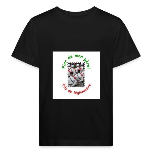 T-shirt bio fier de mon père (garçon) - T-shirt bio Enfant