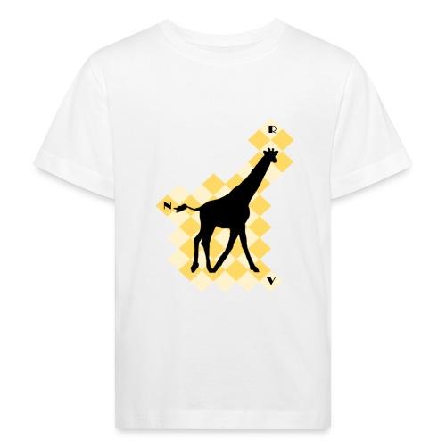 GiraffeSquare - Lasten luonnonmukainen t-paita
