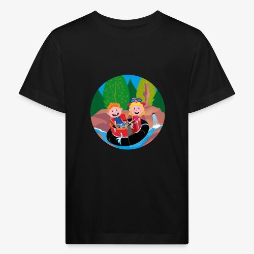 Themepark: Rapids - Kinderen Bio-T-shirt