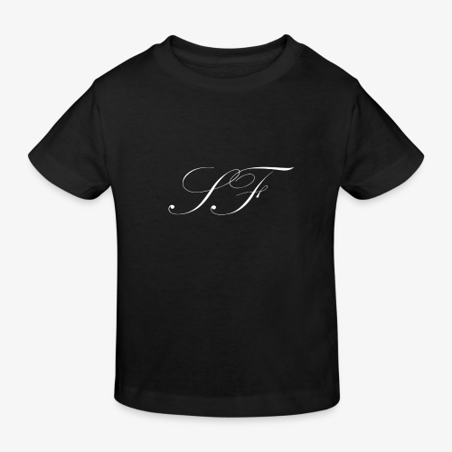 Seb Foster Basic Logo Merch - Kids' Organic T-Shirt