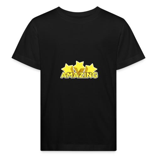Amazing - Kids' Organic T-Shirt