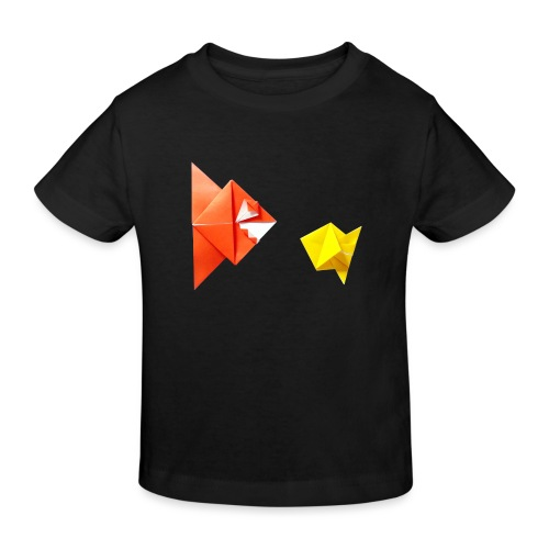Origami Piranha and Fish - Fish - Pesce - Peixe - Kids' Organic T-Shirt