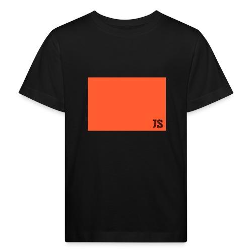 JustSquares Oranje - Kinderen Bio-T-shirt