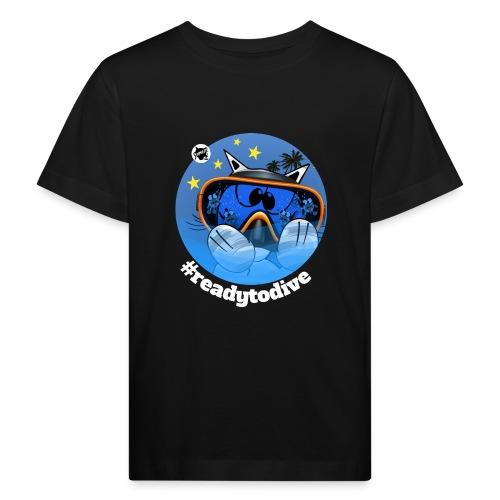 Astrokatze Fisch - Kinder Bio-T-Shirt