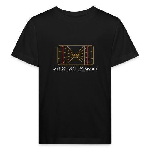 STAY ON TARGET 1977 TARGETING COMPUTER - Lasten luonnonmukainen t-paita