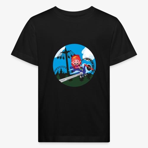 Themeparkrides - Airplanes - Kinderen Bio-T-shirt