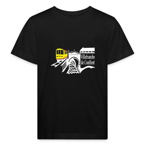 train jaune villefranche de conflent - Kinder Bio-T-Shirt