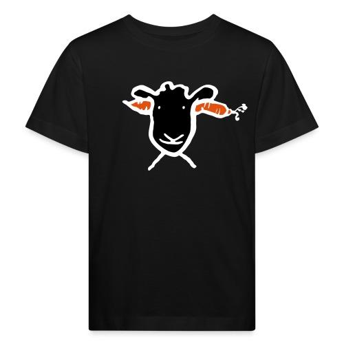 Krasses Möhren Schaf - Kinder Bio-T-Shirt