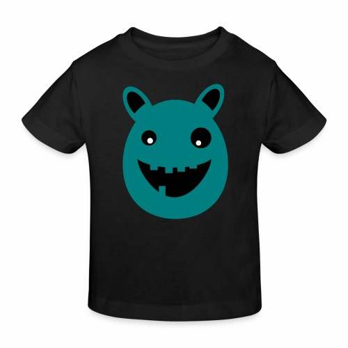 Thaddeus the little monster - Kids' Organic T-Shirt