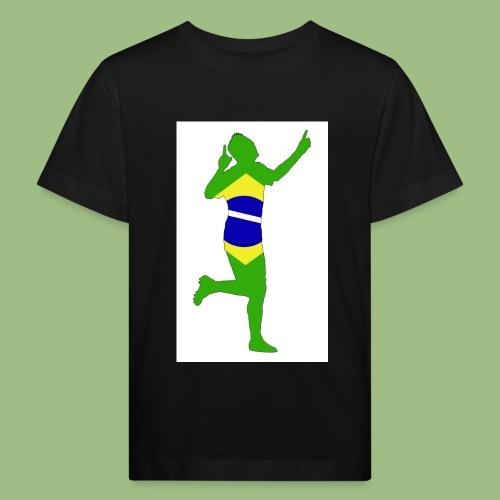 Neymár Brazil - Ekologisk T-shirt barn