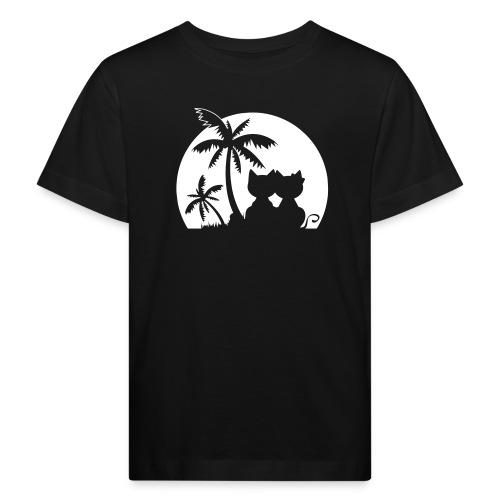 Palmeninsel - Kinder Bio-T-Shirt