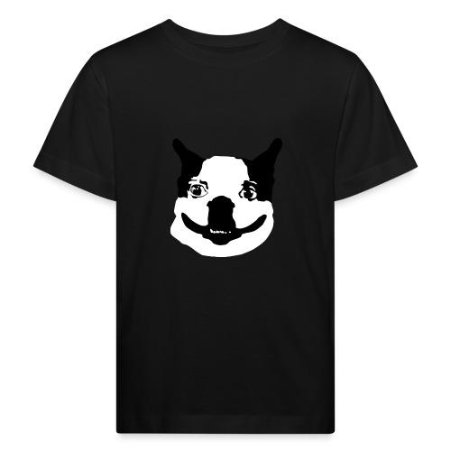 Lennu - Mustavalkoinen - Lasten luonnonmukainen t-paita
