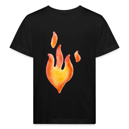 Fiamma - Maglietta ecologica per bambini