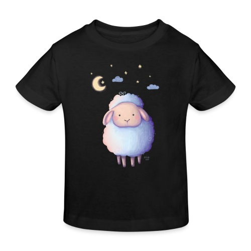 Gute Nacht, kleines Schäfchen - Kinder Bio-T-Shirt