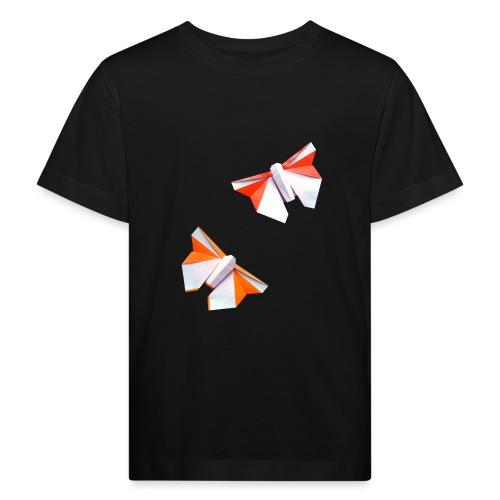 Butterflies Origami - Butterflies - Mariposas - Kids' Organic T-Shirt