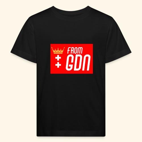 #fromGDN - Ekologiczna koszulka dziecięca