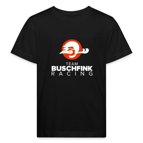 Team Buschfink Logo On Dark - Kids' Organic T-Shirt