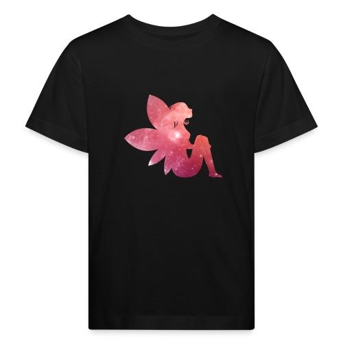 Pink fairy - Økologisk T-skjorte for barn